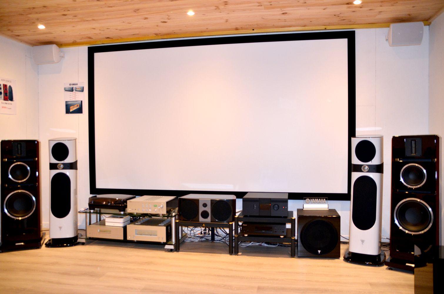 tous les produits hifi & home cinéma en démonstration dans notre magasin du Havre
